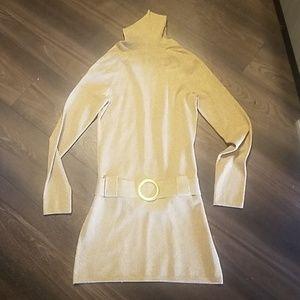 💖INC GOLD GLITTER SWEATER DRESS!!!